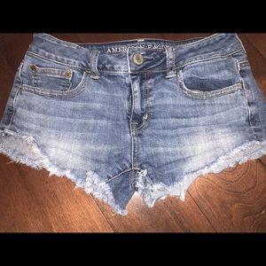 Denim American Eagle Shorts. sz 0.